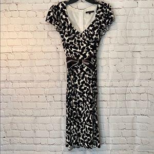 Nanette Lepore Black & White Very Cherry Dress